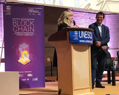 Conférence internationale sur la blockchain et l'innovation sociale à l'UNESCO