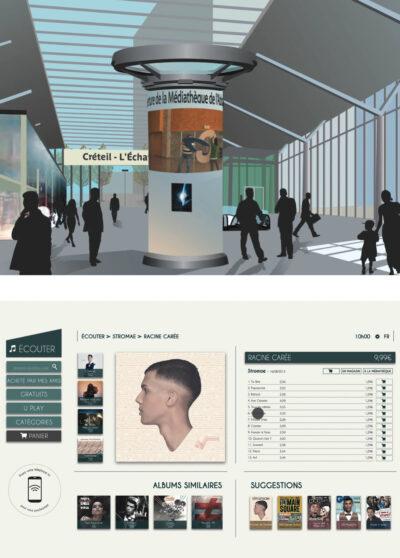 Colonne Morriss «KiScreen » ou le kiosque intelligent