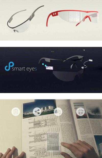 Lunettes de Réalité Augmentée « SmartEyes »