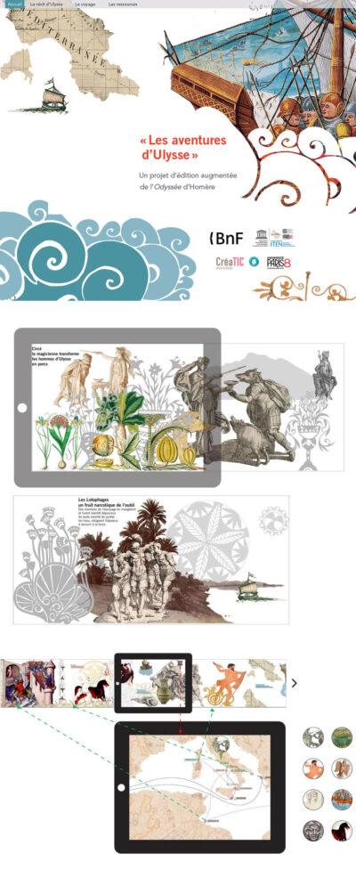 « Sur les traces d'Ulysse » : Édition numérique augmentée