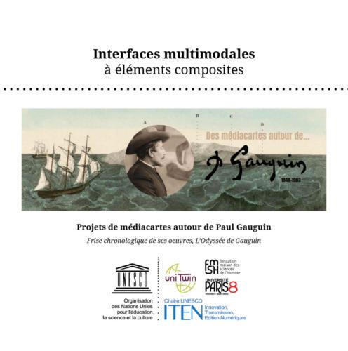 Interfaces prospectives autour de l'exemple de Paul Gauguin (valorisation de données Culture)
