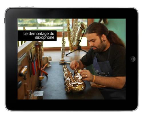 Le réparateur de saxophone