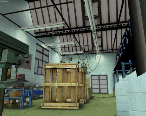 Vue 3D de l'atelier du bronzier d'art 3