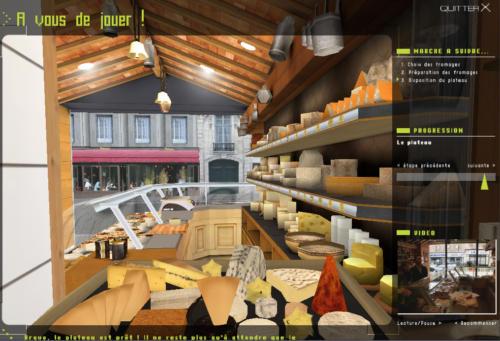 Module du fromager - 3D immersive